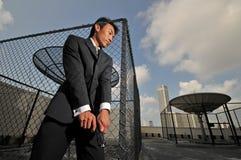 azjatykciego przewożenia chińska mężczyzna krócica zdjęcia royalty free