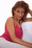 azjatykciej atrakcyjnej brunetki indyjska lat dwudziestych kobieta Fotografia Stock