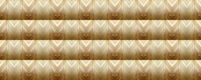 Azobé Wood BANNER & seamless pattern Stock Images