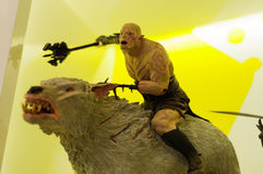 Azog the Goblin Figurine Stock Images