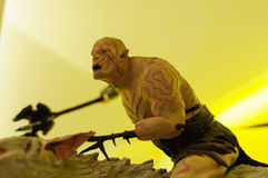 Azog the Goblin Figurine Stock Photo