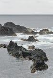 Azorean海岸6 免版税库存图片