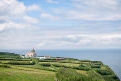 Azorean маяк Стоковое Фото