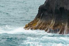 Azorean kust 1 Arkivbild