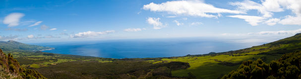 Azorean landscape Stock Photo