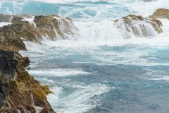Azorean wybrzeże Zdjęcia Royalty Free