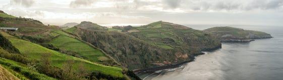 Azoren-Landschaft stockbild