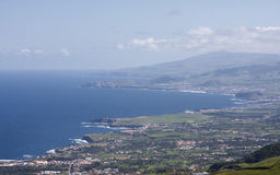 Azores. Panorama of St. Miguel Island - Azores/Portugal Stock Photo