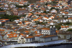 Azores - Angra do Heroismo, Terceira Island Stock Photography