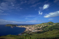 Azores - Bay of Horta, Faial Island Stock Photography