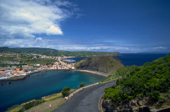 Azores - Bay of Horta, Faial Island Stock Images
