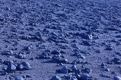 Azores blue volcanic landscape in Faial island. Ponta dos Capeli Royalty Free Stock Photography