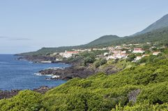 Azores coastline Royalty Free Stock Photos