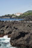 Azores coastline Stock Photos