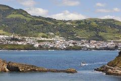 Azores coastline landscape. Vila Franca do Campo. Sao Miguel. Po Stock Photography