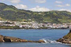 Azores coastline landscape. Vila Franca do Campo. Sao Miguel. Po Royalty Free Stock Photo