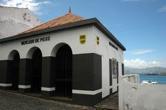 Azores fish market Stock Photo