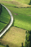 Azores Island landscape and curvy and windy roads Stock Images