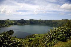 Azores Island - Portugal. A beautiful landscape from the island of Azores in Portugal Stock Images