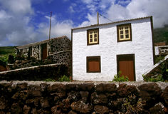 Azores Islands homes Stock Images