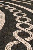 Azores Islands, mosaic stone pavement
