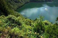 Azores lake Stock Photo