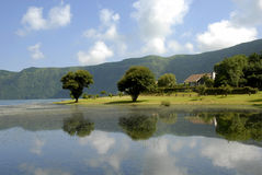 Azores lake Stock Images