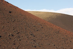 Azores multicolored volcanic landscape in Faial island. Ponta do Royalty Free Stock Images