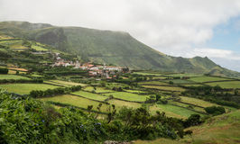 Azores rural village Stock Image