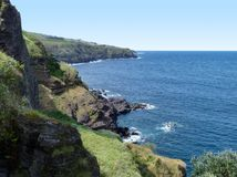 Azores seaside scenery Stock Photography