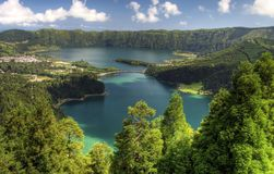 azores Viewpoint Arkivbilder