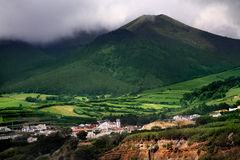 Azores village Stock Photography