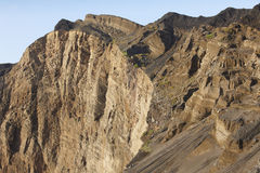 Azores volcanic coastline landscape in Faial island. Ponta dos C Royalty Free Stock Photo
