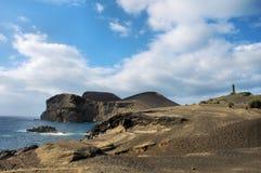 azores vulkan Royaltyfria Foton