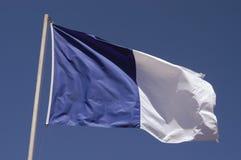 azory flagę Obrazy Royalty Free