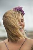 Azotado por el viento Fotografía de archivo libre de regalías