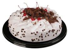 _ azotar poner crema torta Fotos de archivo