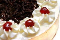_ azotar poner crema torta Imagen de archivo