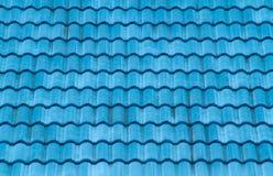 Azotea azul Imagen de archivo