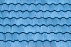 Azotea azul Fotografía de archivo