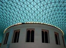 Azotea británica del museo. Imagen de archivo