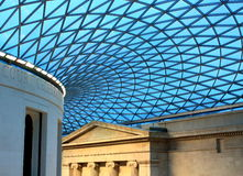 Azotea británica del museo. Fotos de archivo libres de regalías