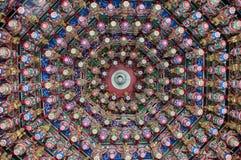 Azotea colorida, Taiwán Imagen de archivo libre de regalías