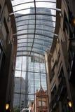 Azotea de cristal Foto de archivo libre de regalías