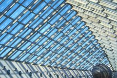 Azotea de cristal Imágenes de archivo libres de regalías