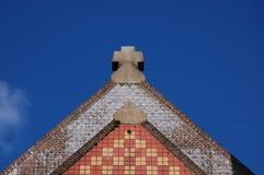 Azotea de la iglesia Fotografía de archivo