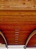 Azotea de madera Foto de archivo libre de regalías