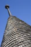 Azotea de madera típica del cono Imagen de archivo