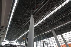 Azotea del acero estructural Foto de archivo libre de regalías