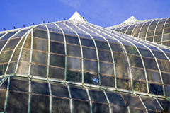Azotea del invernadero del parque de Lincoln Fotografía de archivo libre de regalías